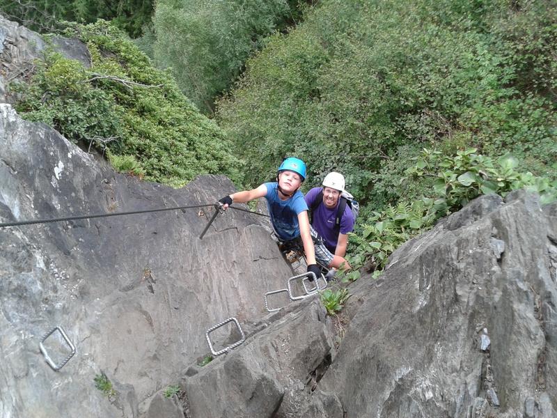 Klettersteig Mayrhofen : Haus wierer sportmöglichkeiten